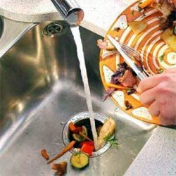 Установка утилизатор пищевых отходов. Владивостокские сантехники.