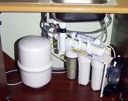 Установка фильтра очистки воды в Владивостоке, подключение фильтра очистки воды в г.Владивосток
